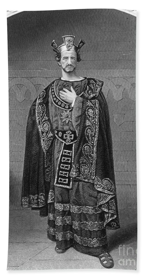 1870s Hand Towel featuring the photograph Macbeth, C1870 by Granger