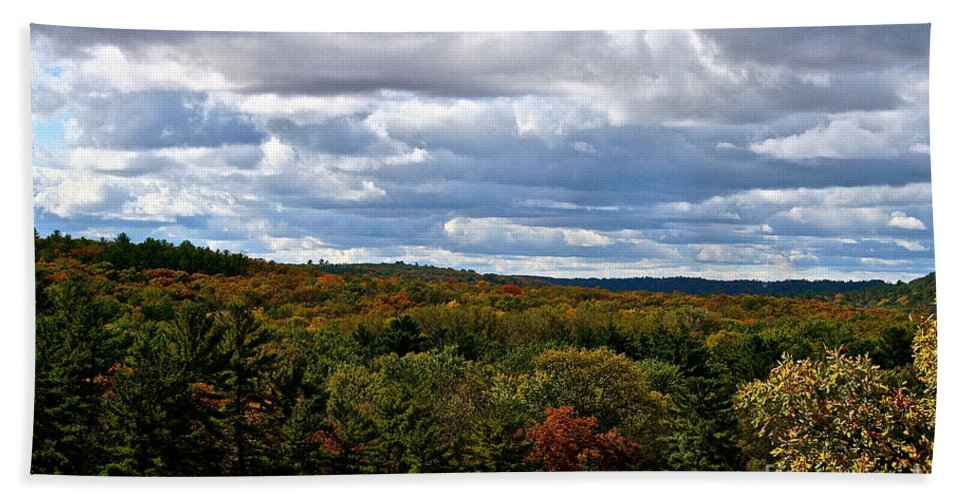Landscape Hand Towel featuring the photograph Magnificent Minnesota by Susan Herber
