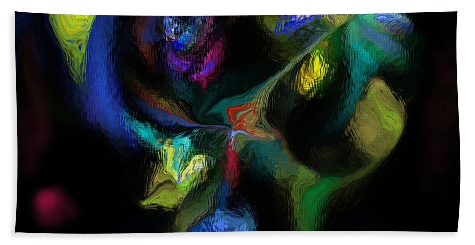 Fine Art Bath Sheet featuring the digital art Majority Tyranny by David Lane