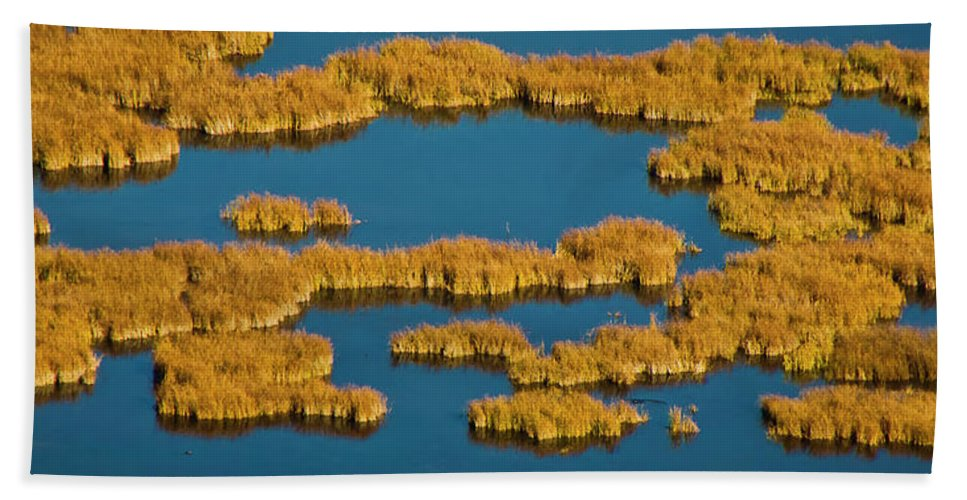 Autumn Color Bath Sheet featuring the photograph Map Of The World by Albert Seger
