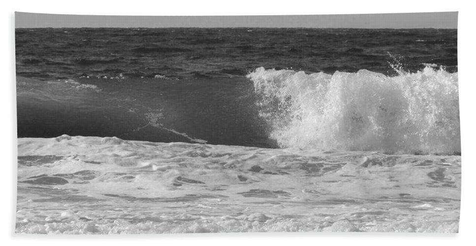 Marina Dunes Beach Bath Sheet featuring the photograph Marina Incoming by Kathleen Grace