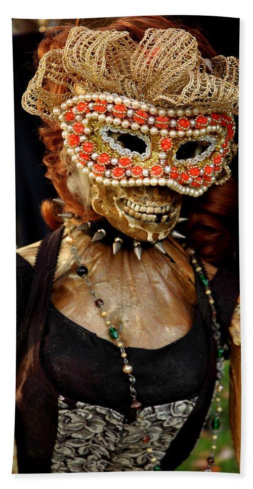 Usa Bath Sheet featuring the photograph Mask Ball by LeeAnn McLaneGoetz McLaneGoetzStudioLLCcom