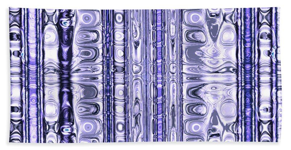 Fractal Hand Towel featuring the digital art Matrix by Betsy Knapp