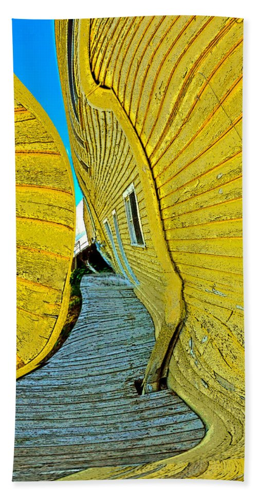 Yellow Hand Towel featuring the photograph Mellow Yellow by Terry Anderson