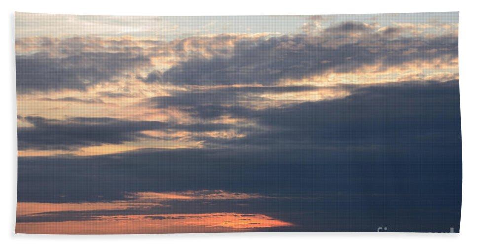 Minnesota Sunset Hand Towel featuring the photograph Minnesota Sunset 2 by Cassie Marie Photography
