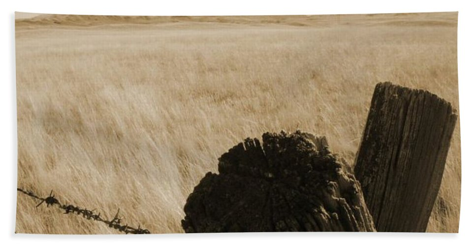 Montana Bath Sheet featuring the photograph Montana Vista by Bruce Patrick Smith