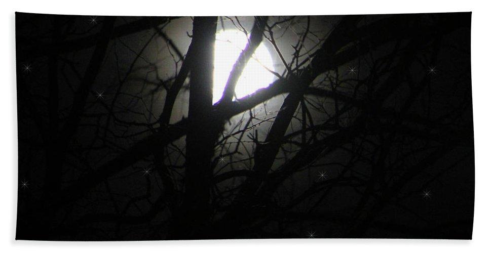 Ericamaxine Bath Sheet featuring the photograph Moon by Ericamaxine Price