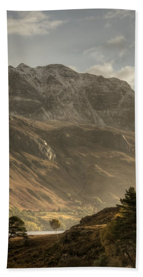 Scotland Bath Sheet featuring the photograph Morning Glory by Colette Panaioti