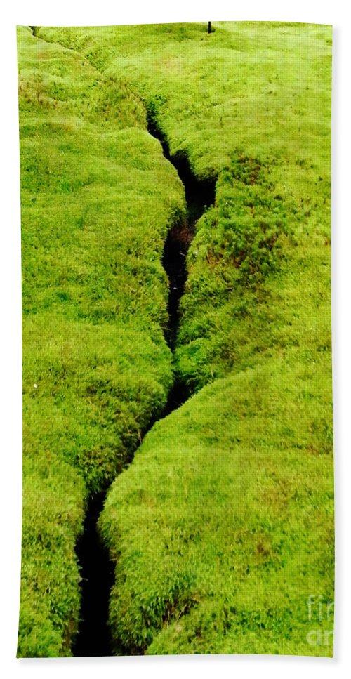 Moss Bath Sheet featuring the photograph Moss Forest by Lizi Beard-Ward