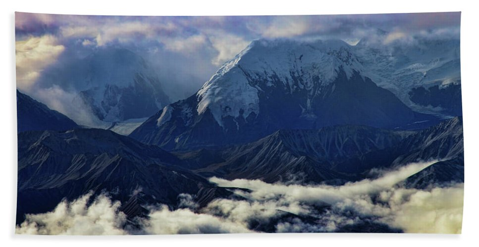 Mount Brooks Hand Towel featuring the photograph Mount Brooks by Rick Berk