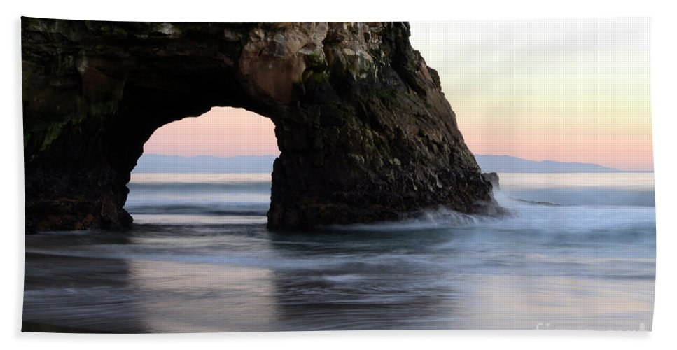 California Bath Sheet featuring the photograph Natural Bridge by Bob Christopher