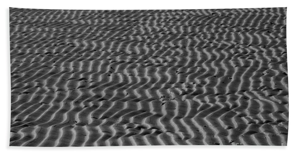 Beach Bath Sheet featuring the photograph Nature Patterns Series - 66 by Heiko Koehrer-Wagner