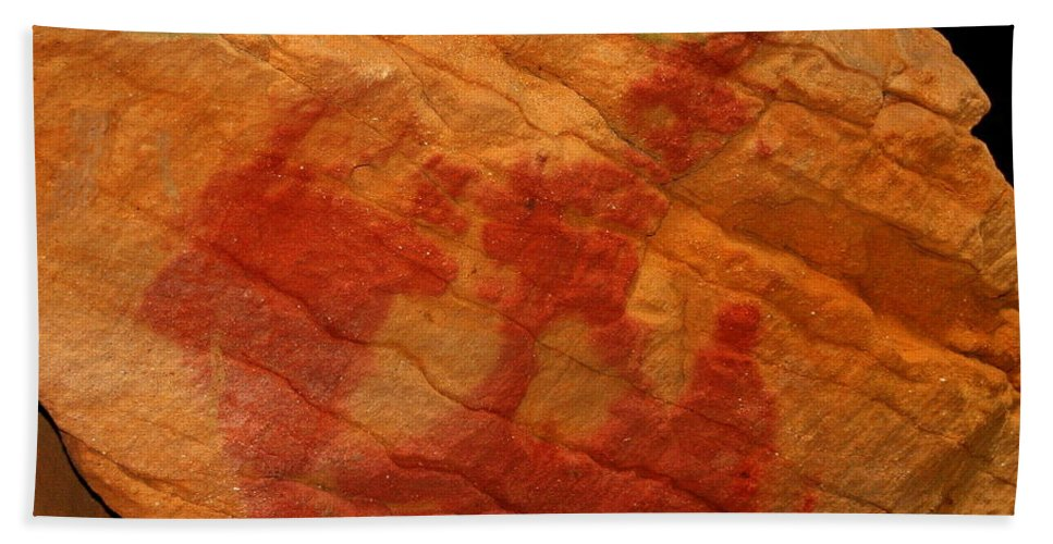 Stone Bath Sheet featuring the photograph Nature's Palette In Stone by Laurel Talabere