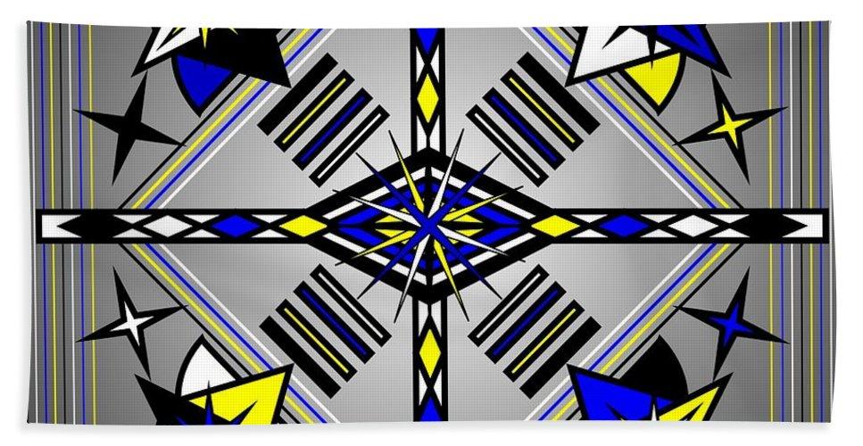 Digital Bath Sheet featuring the digital art Navajo 2012 by Kathryn Strick