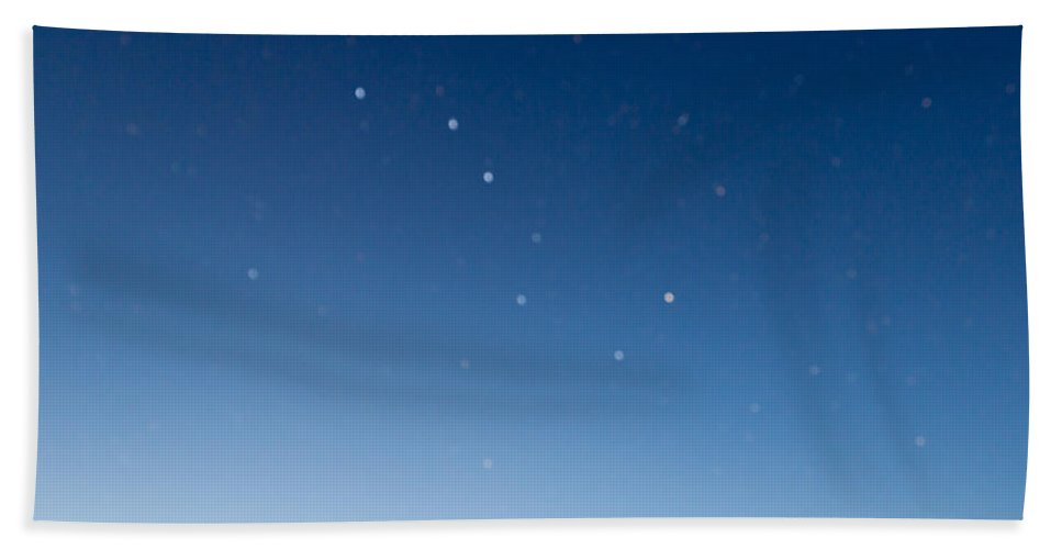 Sky Bath Sheet featuring the photograph Night Sky by Heidi Smith
