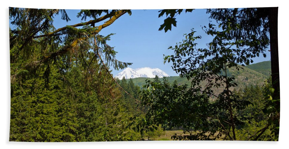 Northwest Hand Towel featuring the photograph Northwest Trek by Tikvah's Hope