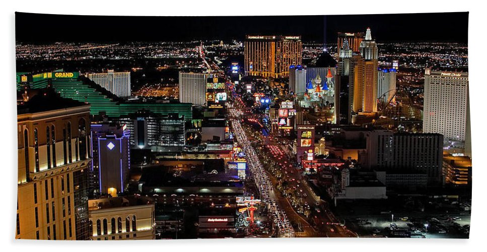 Las Vegas Hand Towel featuring the photograph Not Everything Stays In Vegas by Ericamaxine Price