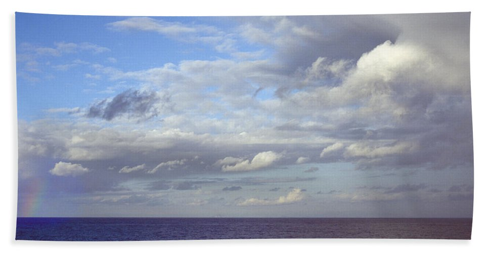 Ocean Hand Towel featuring the photograph Ocean View by Mark Greenberg