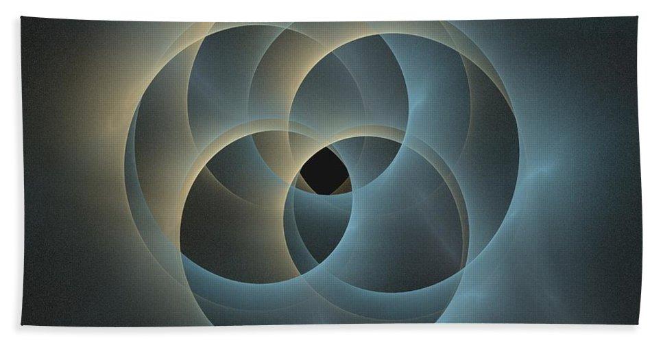 Apophysis Bath Sheet featuring the digital art Oceanus by Kim Sy Ok