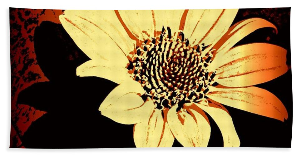 Earthy Bath Sheet featuring the photograph October Jewel by Chris Berry