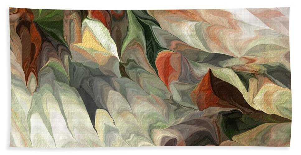 Fine Art Bath Sheet featuring the digital art Old Flow by David Lane