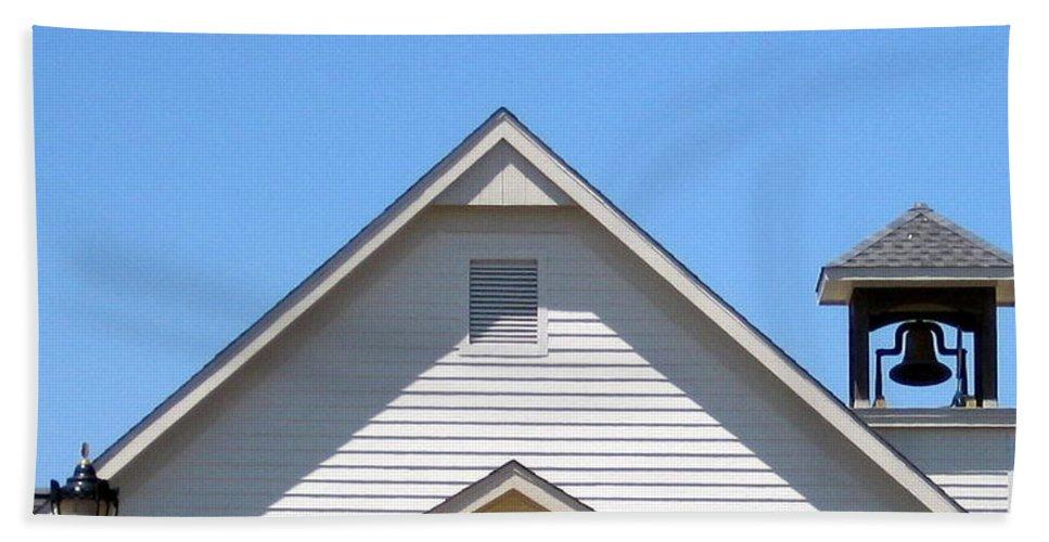 Church Hand Towel featuring the photograph Old Lebanon Baptist Church by Amy Hosp