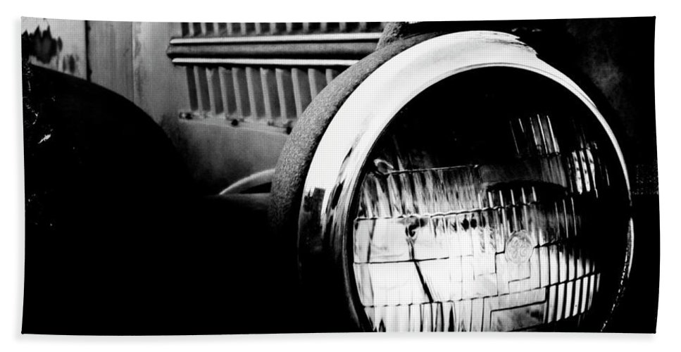 Old Car Bath Sheet featuring the photograph Old Mack by Kevyn Bashore