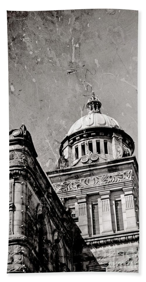British Columbia Hand Towel featuring the photograph Old Parliament In Bc by Traci Cottingham