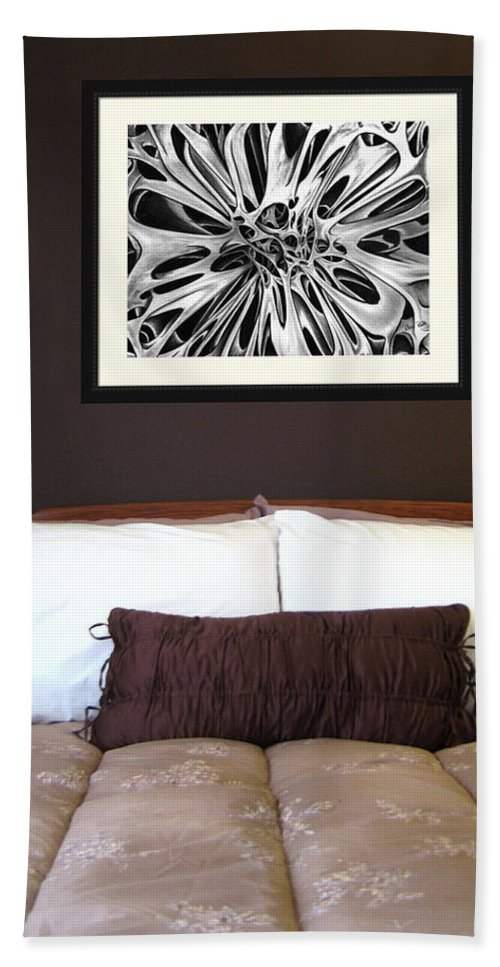 Hand Towel featuring the photograph On Display 02 by Peter Piatt