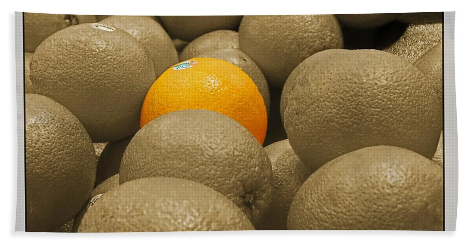 Still Life Bath Sheet featuring the photograph Oranges S.c. by Debbie Portwood