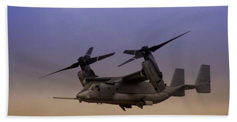 Advanced Hand Towel featuring the photograph Osprey In Flight I by Ricky Barnard