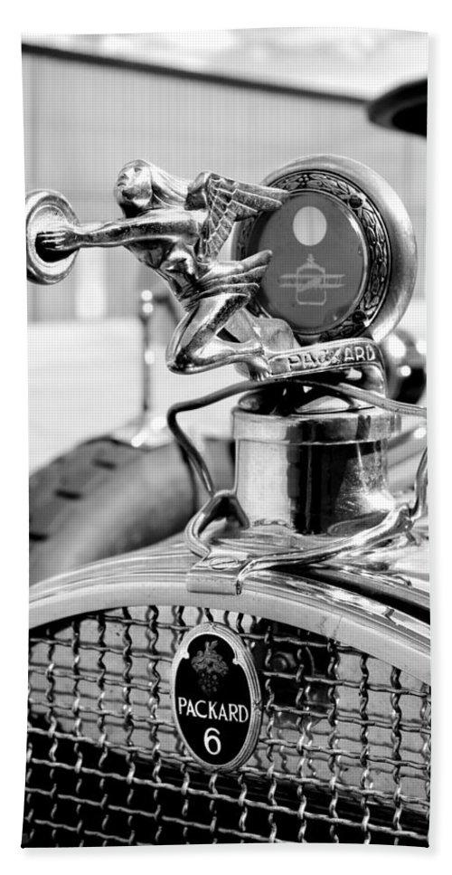 Nashua Bath Sheet featuring the photograph Packard Girl by Greg Fortier