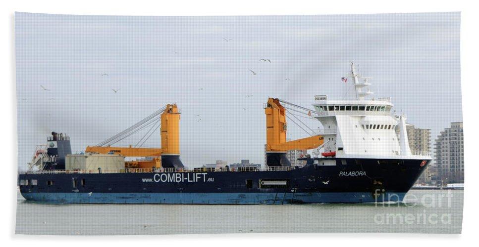 Ship Bath Sheet featuring the photograph Palabora by Ronald Grogan