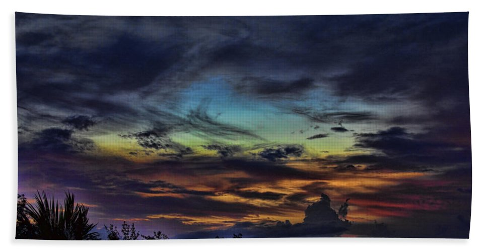 Pastel Bath Sheet featuring the photograph Pastel Sky by Douglas Barnard