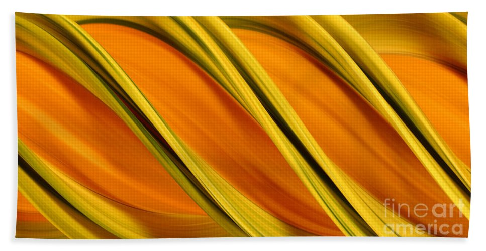 Design Hand Towel featuring the photograph Peripheral Streak Image Of Squash by Ted Kinsman