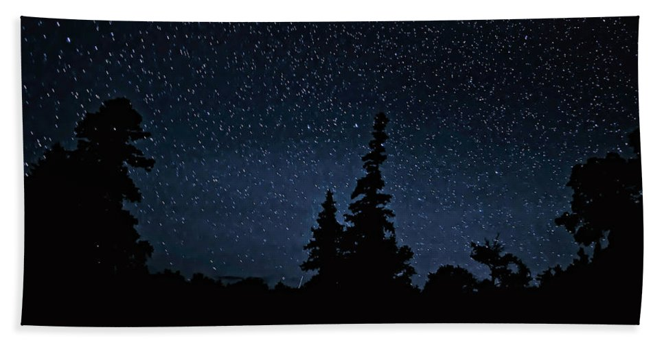 Galaxy Hand Towel featuring the photograph Perspective by Steve Harrington