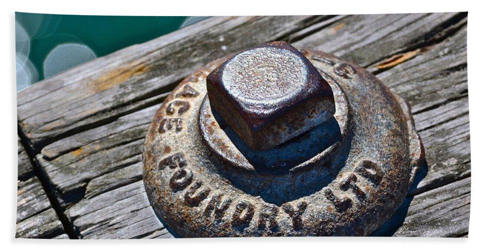 Pier Bath Sheet featuring the photograph Pier by Bill Owen