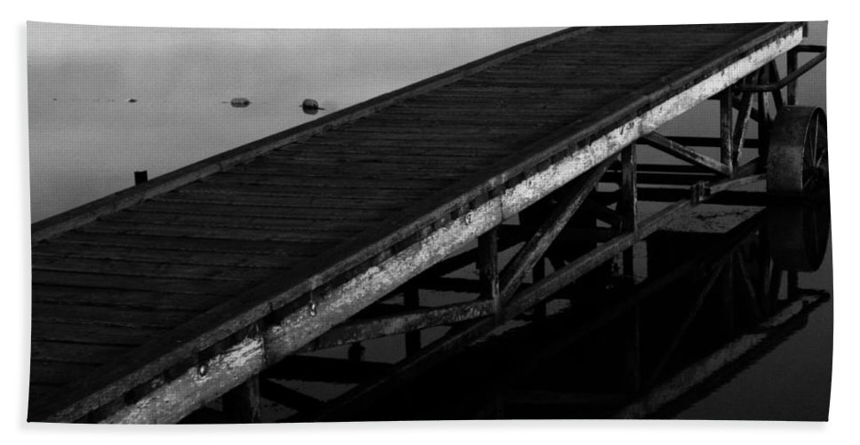 Street Photography Photographs Framed Prints Photographs Framed Prints Bath Sheet featuring the photograph Piers Of Pleasure by The Artist Project