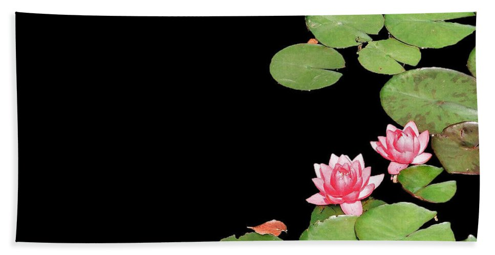 Hand Towel featuring the photograph Pink by David Pantuso