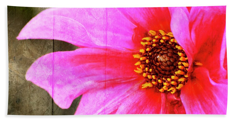 Pink Hand Towel featuring the photograph Pink Power by Traci Cottingham