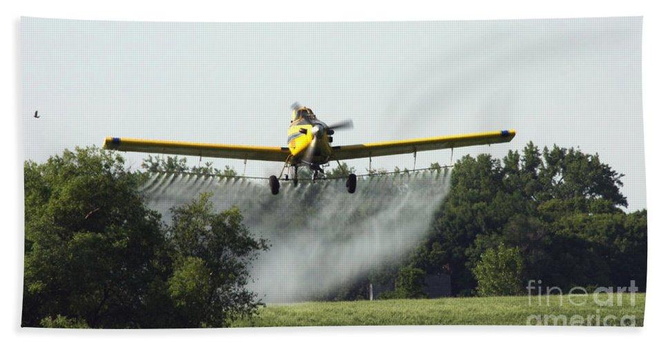 Plane Bath Sheet featuring the photograph Plane by Lori Tordsen