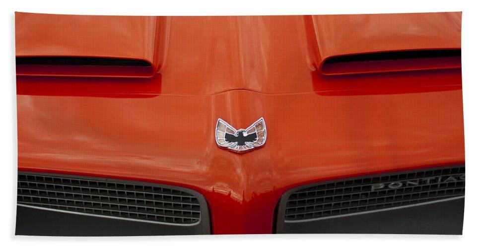 Pontiac Firebird Bath Sheet featuring the photograph Pontiac Firebird Grille by Jill Reger