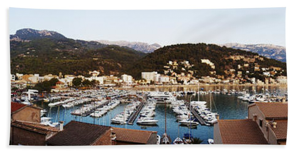 Puerto Bath Sheet featuring the photograph Port Of Soller by Agusti Pardo Rossello