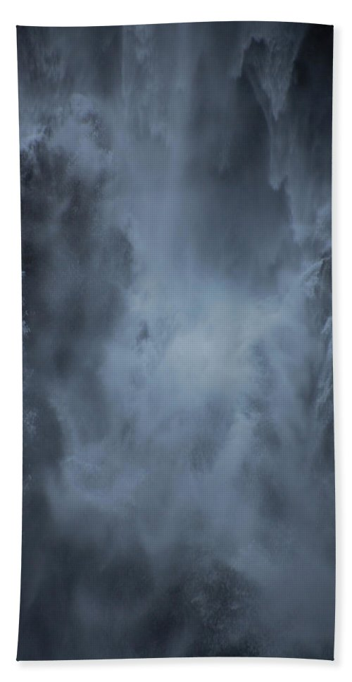 Water Bath Towel featuring the photograph Power Of Water by Jonah Anderson
