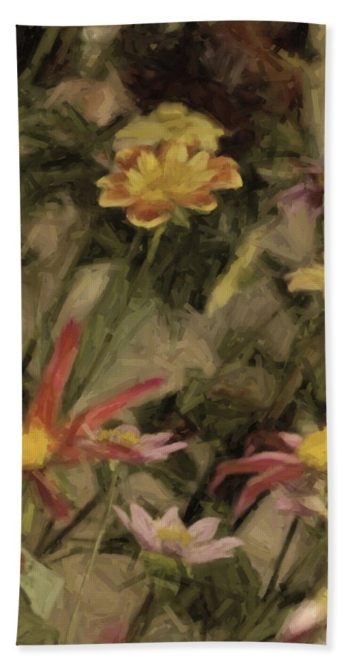 Flower Hand Towel featuring the photograph Prettier Than A Presidential Debate by Trish Tritz