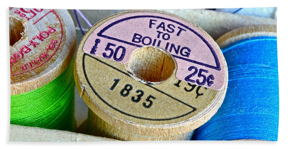 Spools Bath Sheet featuring the photograph Price Hike by Bill Owen