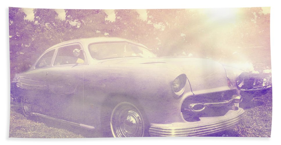 Sun Bath Sheet featuring the photograph Purple Dream by Joel Witmeyer