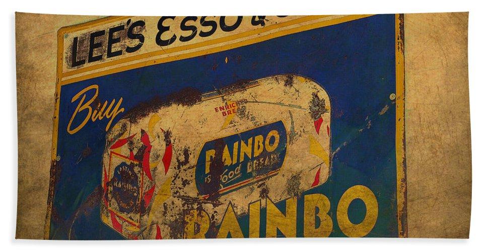 Rainbo Bread Bath Sheet featuring the photograph Rainbo Bread by Todd Hostetter