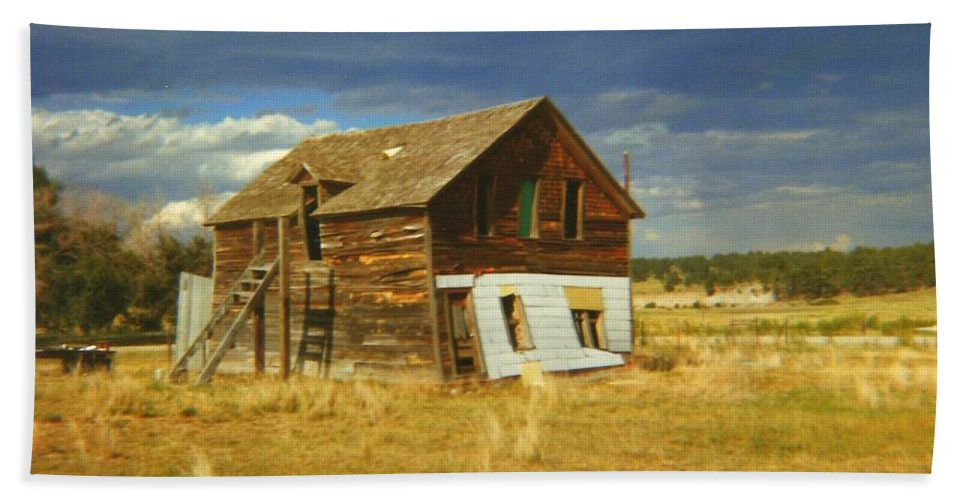 House Hand Towel featuring the photograph Ranch House by Bonfire Photography