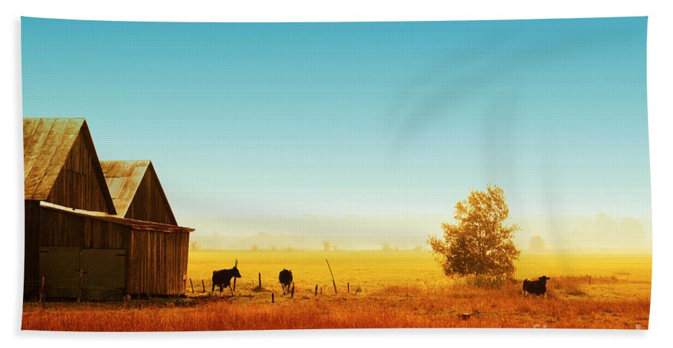 Landscape Bath Sheet featuring the photograph Rawdon Everyday Life 02 by Aimelle